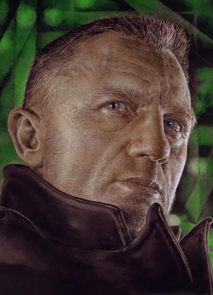 Daniel Craig par Alexey